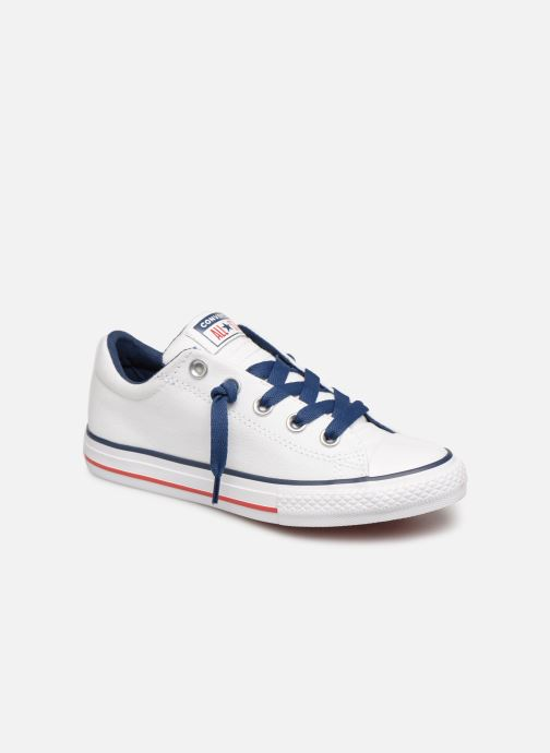 Trainers Converse Chuck Taylor All Star Street Slip Canvas White detailed view/ Pair view