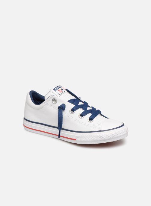 Sneakers Converse Chuck Taylor All Star Street Slip Canvas Bianco vedi dettaglio/paio