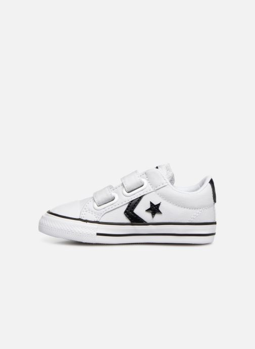 Trainers Converse Star Player 2V Ox Spring Essentials White front view