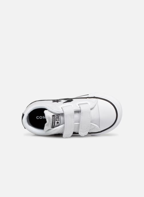 Deportivas Converse Star Player 2V Ox Spring Essentials Blanco vista lateral izquierda