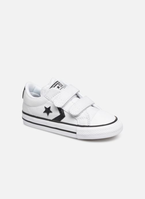 Baskets Converse Star Player 2V Ox Spring Essentials Blanc vue détail/paire