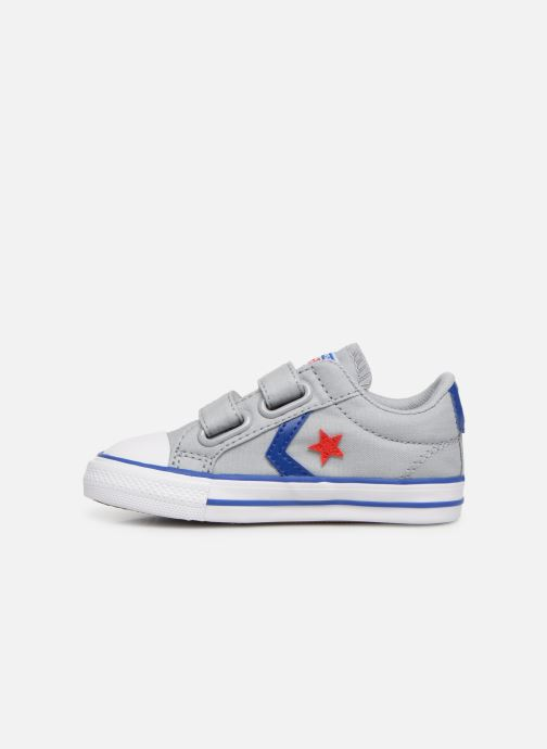 Baskets Converse Star Player 2V Ox Spring Essentials Gris vue face
