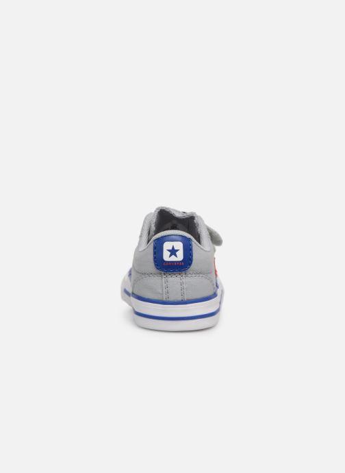 Sneakers Converse Star Player 2V Ox Spring Essentials Grigio immagine destra