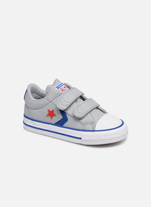 Sneakers Converse Star Player 2V Ox Spring Essentials Grijs detail