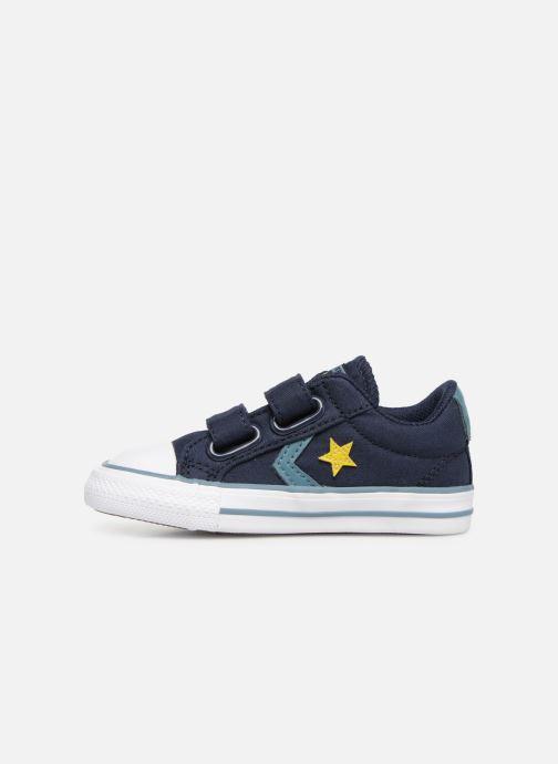 Sneakers Converse Star Player 2V Ox Spring Essentials E Azzurro immagine frontale