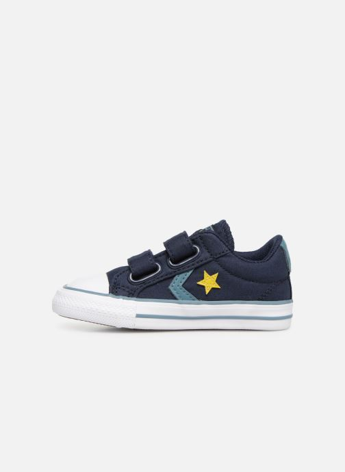 Sneakers Converse Star Player 2V Ox Spring Essentials E Azzurro immagine frontale