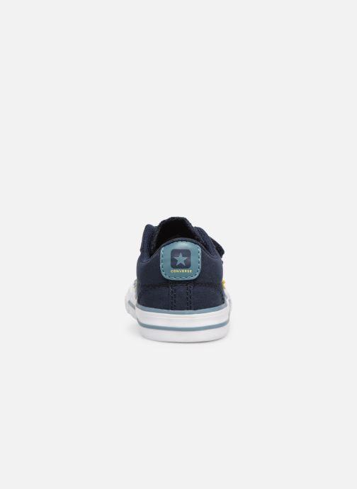 Sneakers Converse Star Player 2V Ox Spring Essentials E Azzurro immagine destra