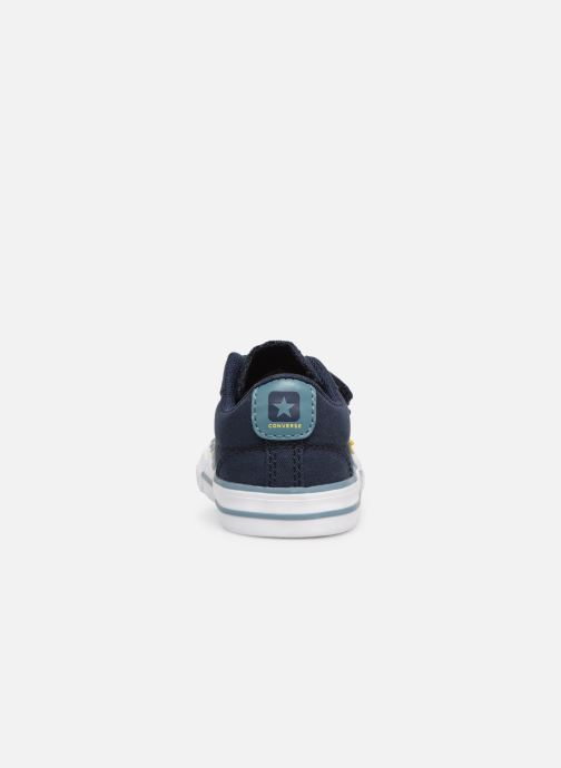 32eacf26410 Trainers Converse Star Player 2V Ox Spring Essentials E Blue view from the  right