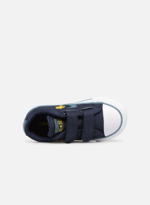 Sneakers Converse Star Player 2V Ox Spring Essentials E Azzurro immagine sinistra