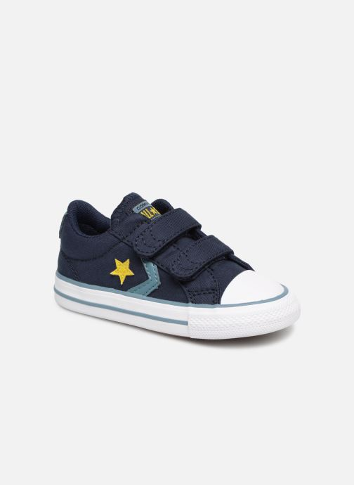 Baskets Converse Star Player 2V Ox Spring Essentials E Bleu vue détail/paire