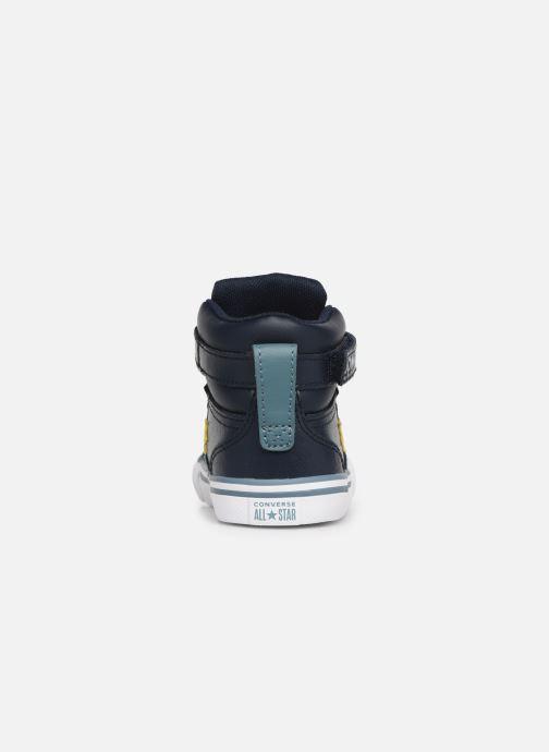Sneakers Converse Pro Blaze Strap Hi Spring Essentials E Azzurro immagine destra