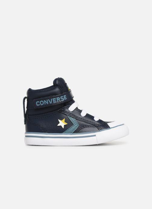 Sneaker Converse Pro Blaze Strap Hi Spring Essentials E blau ansicht von hinten