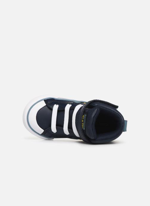 Sneaker Converse Pro Blaze Strap Hi Spring Essentials E blau ansicht von links