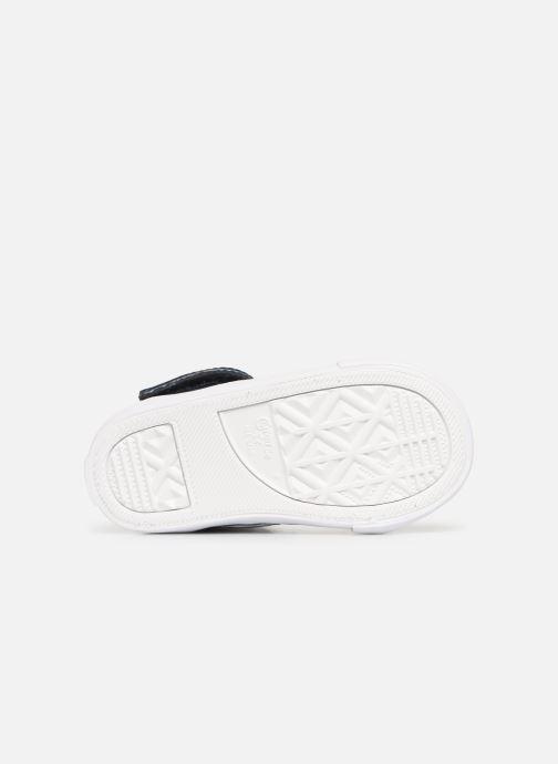 Sneaker Converse Pro Blaze Strap Hi Spring Essentials E blau ansicht von oben