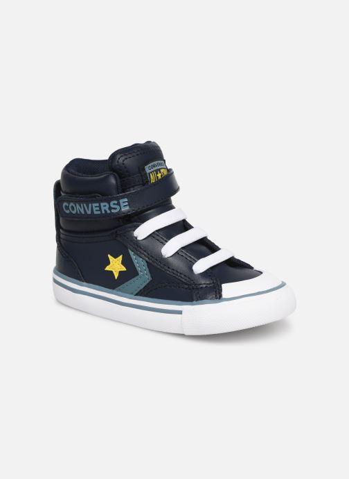 Baskets Converse Pro Blaze Strap Hi Spring Essentials E Bleu vue détail/paire