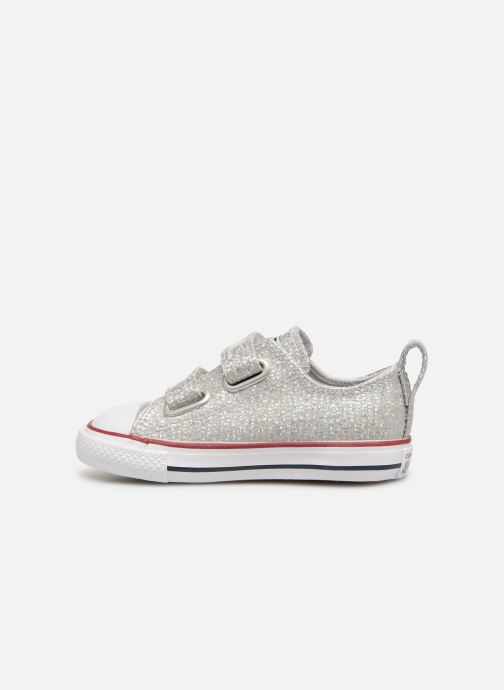 Sneakers Converse Chuck Taylor All Star 2V Ox Sport Sparkle Argento immagine frontale