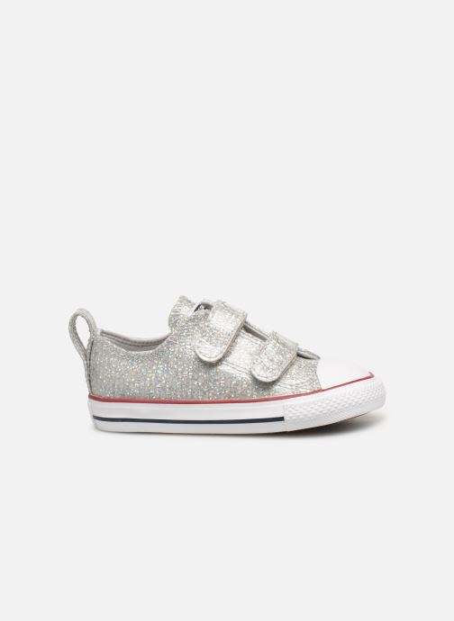 Sneakers Converse Chuck Taylor All Star 2V Ox Sport Sparkle Argento immagine posteriore