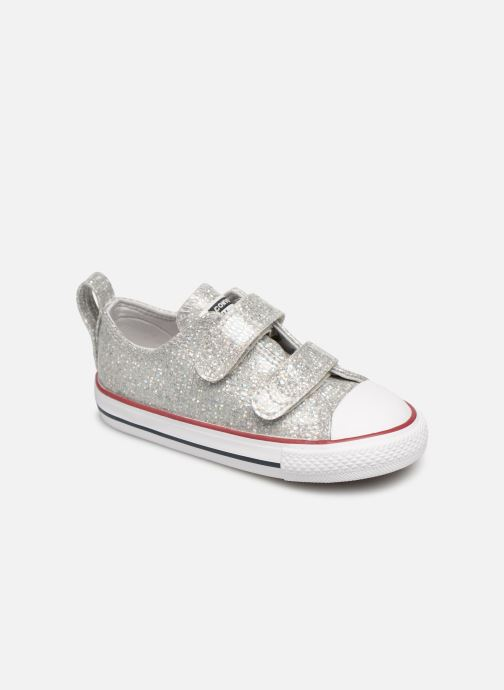 Trainers Converse Chuck Taylor All Star 2V Ox Sport Sparkle Silver detailed view/ Pair view
