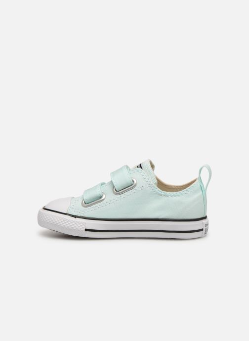 Sneakers Converse Chuck Taylor All Star 2V Ox Seasonal Color Azzurro immagine frontale