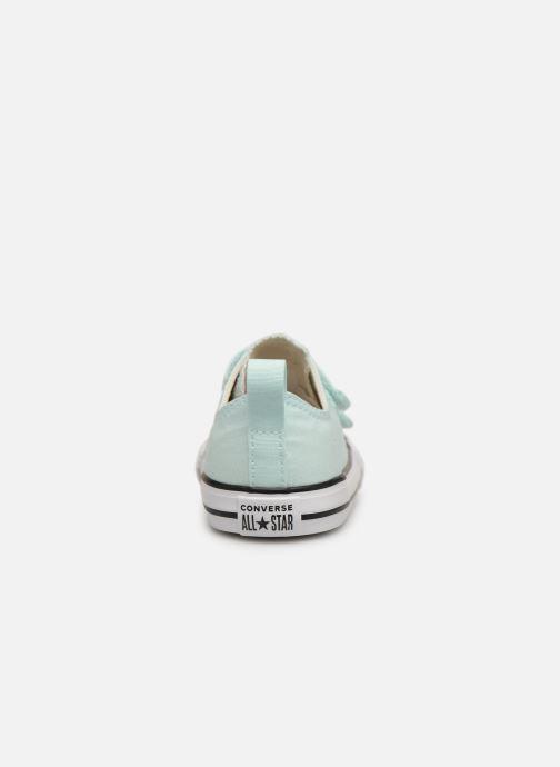 Sneakers Converse Chuck Taylor All Star 2V Ox Seasonal Color Azzurro immagine destra