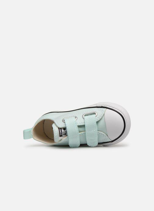 Sneakers Converse Chuck Taylor All Star 2V Ox Seasonal Color Azzurro immagine sinistra