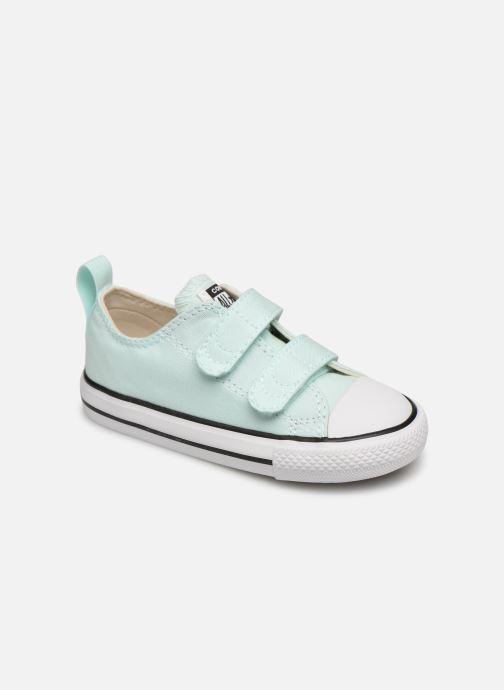 Sneakers Converse Chuck Taylor All Star 2V Ox Seasonal Color Azzurro vedi dettaglio/paio