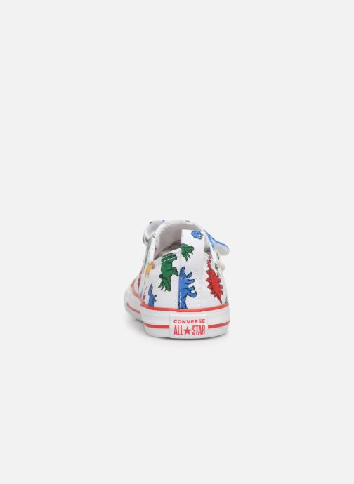 Trainers Converse Chuck Taylor All Star 2V Ox Dinoverse White view from the right