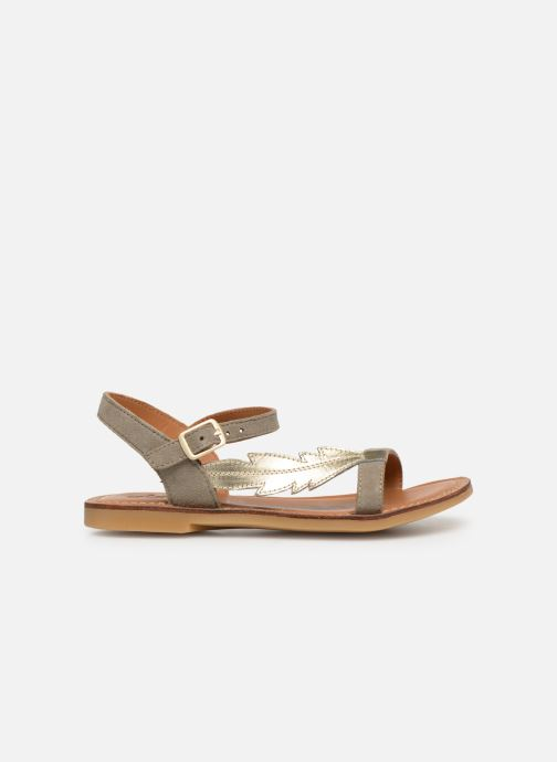 Sandals Adolie Lazar Feather Silver back view