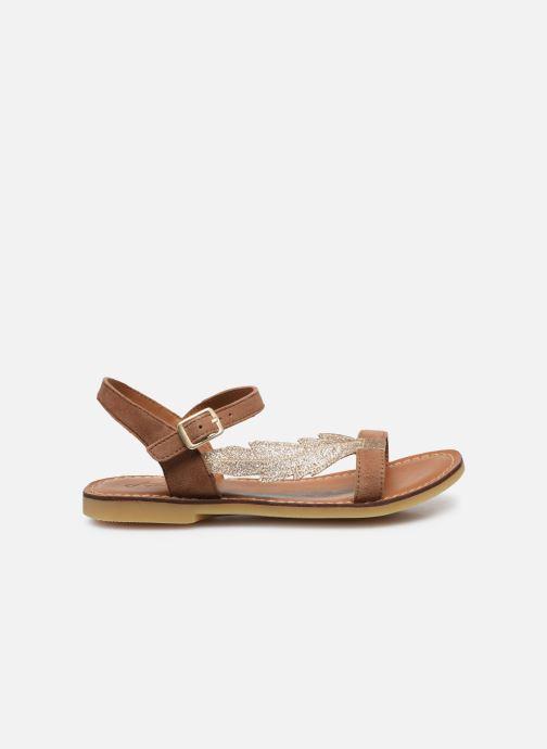 Sandali e scarpe aperte Adolie Lazar Feather Marrone immagine posteriore