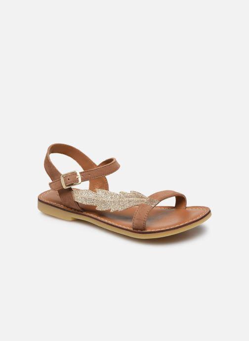 Sandali e scarpe aperte Adolie Lazar Feather Marrone vedi dettaglio/paio