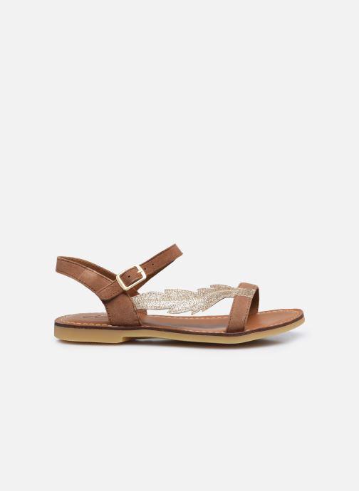 Sandales et nu-pieds Adolie Lazar Feather Marron vue derrière