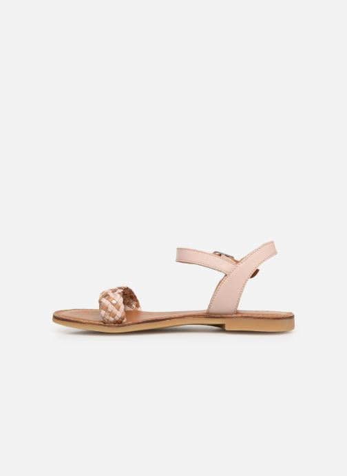 Sandals Adolie Lazar Kate Pink front view