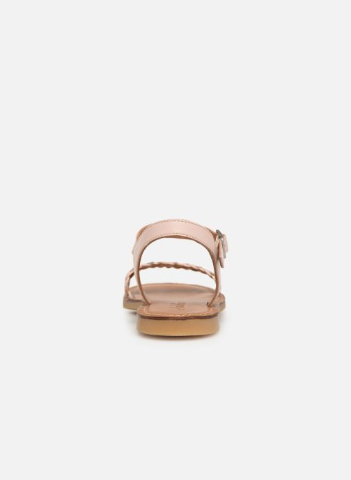 Sandals Adolie Lazar Kate Pink view from the right