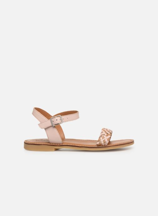Sandals Adolie Lazar Kate Pink back view