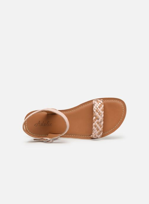 Sandales et nu-pieds Adolie Lazar Kate Rose vue gauche