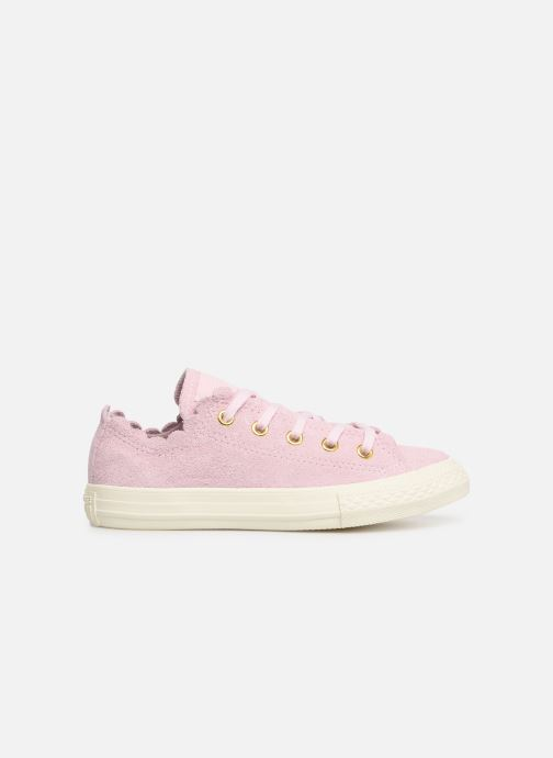 Baskets Converse Chuck Taylor All Star Ox Frilly Thrills Rose vue derrière