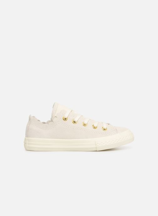 Baskets Converse Chuck Taylor All Star Ox Frilly Thrills Beige vue derrière