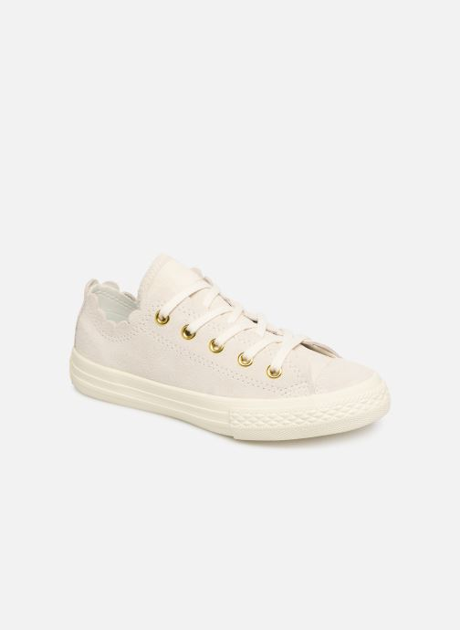 23d86a1b34a8a Baskets Converse Chuck Taylor All Star Ox Frilly Thrills Beige vue détail  paire