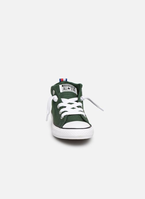 8572a8989e0 Trainers Converse Chuck Taylor All Star Street Mid Sport Webbing Green  model view