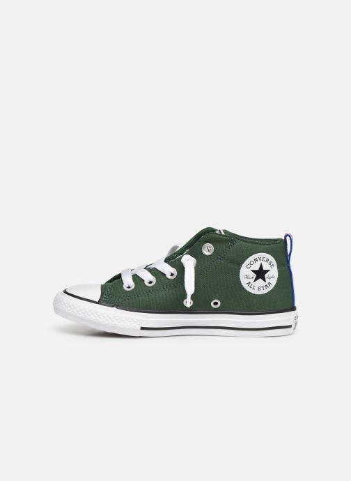 Sneakers Converse Chuck Taylor All Star Street Mid Sport Webbing Groen voorkant