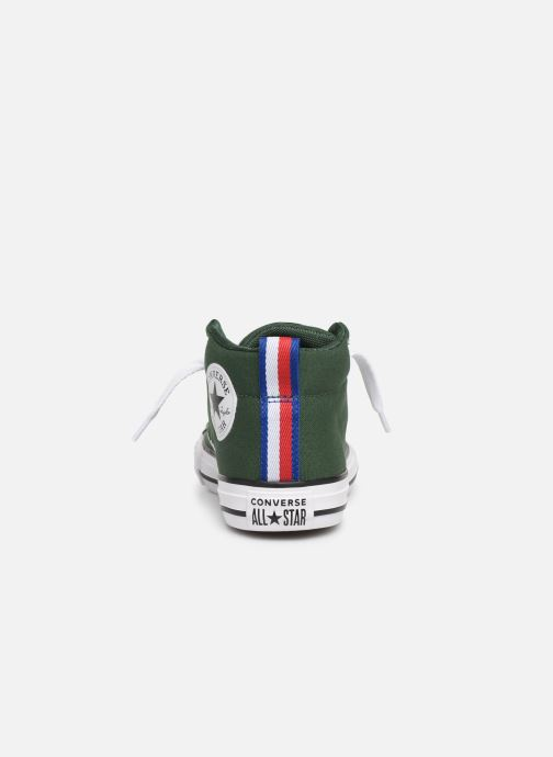 e59ba0154ed Trainers Converse Chuck Taylor All Star Street Mid Sport Webbing Green view  from the right