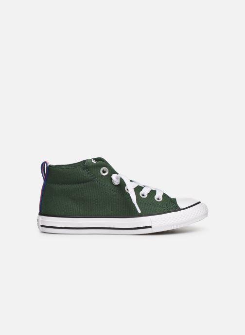 Sneakers Converse Chuck Taylor All Star Street Mid Sport Webbing Groen achterkant