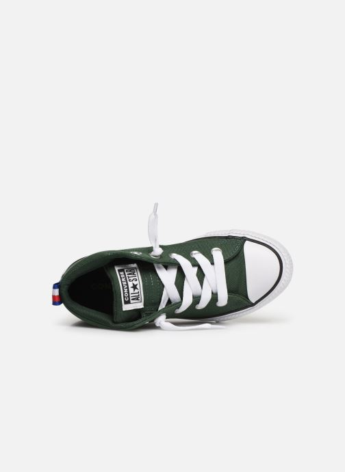 41636874091 Trainers Converse Chuck Taylor All Star Street Mid Sport Webbing Green view  from the left