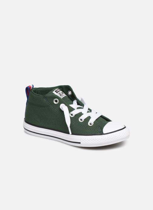 9a950183e31 Sneakers Converse Chuck Taylor All Star Street Mid Sport Webbing Grön  detaljerad bild på paret