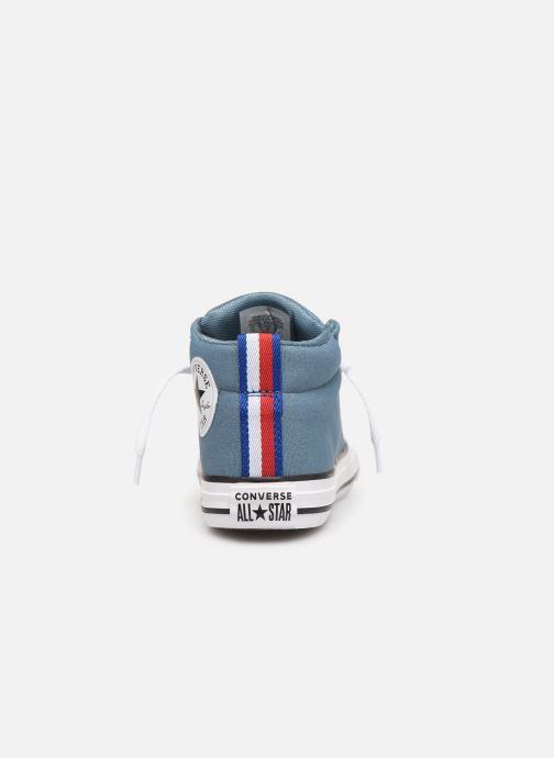 Sneakers Converse Chuck Taylor All Star Street Mid Sport Webbing Blauw rechts