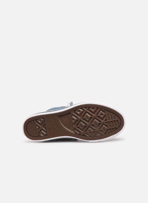 Sneakers Converse Chuck Taylor All Star Street Mid Sport Webbing Blauw boven