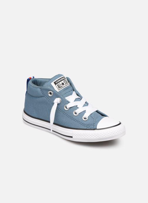 Sneakers Converse Chuck Taylor All Star Street Mid Sport Webbing Blauw detail