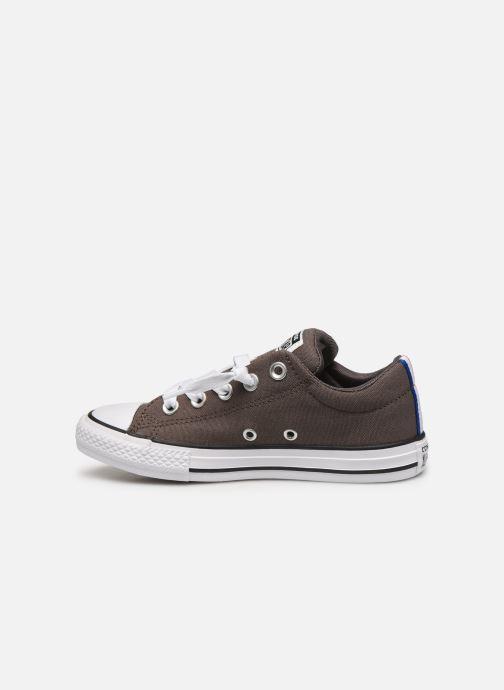 Sneakers Converse Chuck Taylor All Star Street Slip Sport Webbing Grijs voorkant