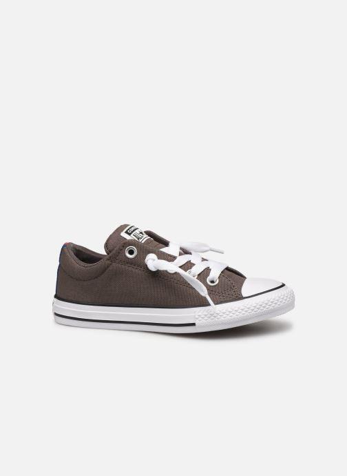 Sneakers Converse Chuck Taylor All Star Street Slip Sport Webbing Grigio immagine posteriore