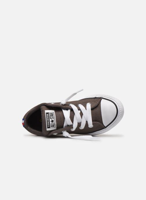 Sneakers Converse Chuck Taylor All Star Street Slip Sport Webbing Grijs links